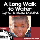 A Long Walk to Water Novel Study: vocabulary, comprehension, writing, skills