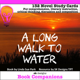 A Long Walk to Water Novel Study Cards for Classroom & Dis