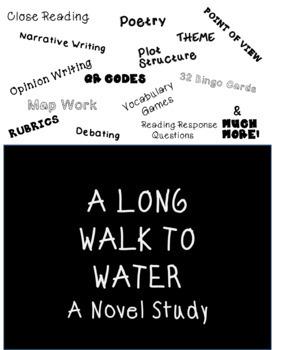 A Long Walk to Water -Novel Unit