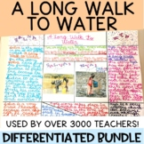 A Long Walk to Water Novel Unit Plan Bundle for Differentiation