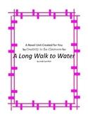 A  Long Walk to Water Novel Unit Plus Grammar