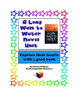 A Long Walk to Water Novel Unit w/ Lesson Plans & more! Start 1st day of school!