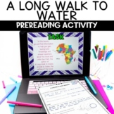 A Long Walk to Water Digital Activity for Distance Learning