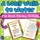A Long Walk to Water Review Flip Book Activity