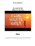 A Long Walk to Water Student Notes Template