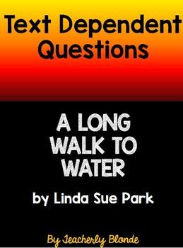A Long Walk to Water Text D... by Teacherly Blonde   Teachers Pay ...