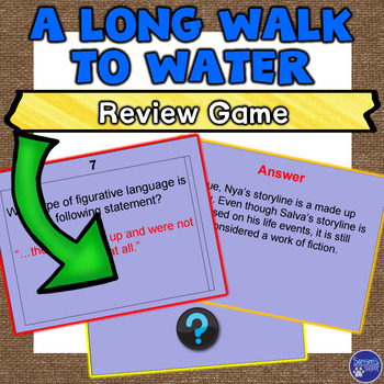 A Long Walk to Water Review Game