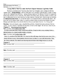 A Long Walk to Water by Linda Sue Park Chapter Summary Log Study Guide and KEY