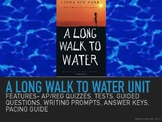 A Long Walk to Water by Linda Sue Park Unit Bundle AP/Regu
