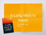A Long Walk to Water by Linda Sue Park - Novel Study