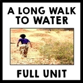 A Long Walk to Water by Linda Sue Park Unit Teaching Package Bundle