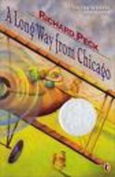 A Long Way From Chicago Prereading activity