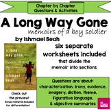 A Long Way Gone -Chapter by Chapter Reading Worksheets/Act