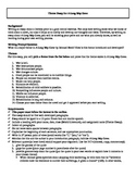 A Long Way Gone Essay Assignment and Rubric