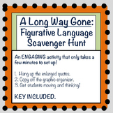 A Long Way Gone: Figurative Language Scavenger Hunt