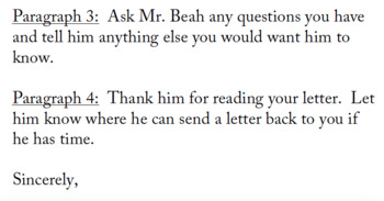 A Long Way Gone Letter to Author (Ishmael Beah)