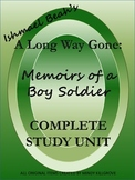 A Long Way Gone: Memoirs of a Boy Soldier by Ishmael Beah Unit- Updated 2/26