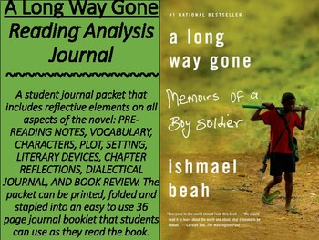 """""""A Long Way Gone"""" Reflective Journal"""