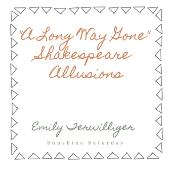 A Long Way Gone Shakespeare Allusions Handout
