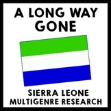 A Long Way Gone - Sierra Leone Multigenre Research Menu