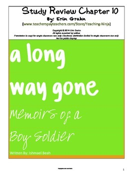 A Long Way Gone Study Review Chapter 10