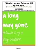 A Long Way Gone Study Review Chapter 20