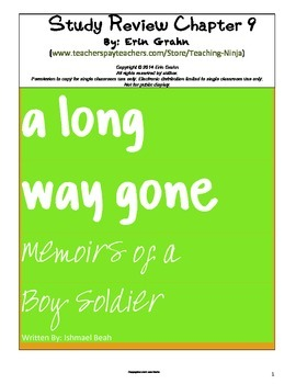 A Long Way Gone Study Review Chapter 9