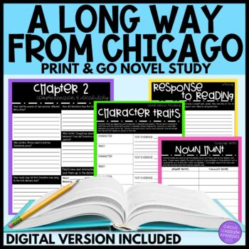 A Long Way from Chicago Novel Study