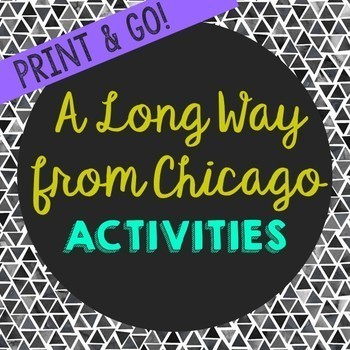 A Long Way from Chicago by Richard Peck Book Companion Act