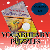 A Long Way from Chicago Vocabulary Wordsearch Puzzles, Cha