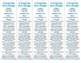 A Long Way from Chicago edition of Bookmarks Plus: Fun Freebie/Handy Reading Aid