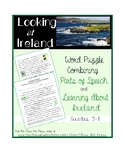 St. Patrick Grammar Practice: Ireland (2 Pages, Ans. Key I