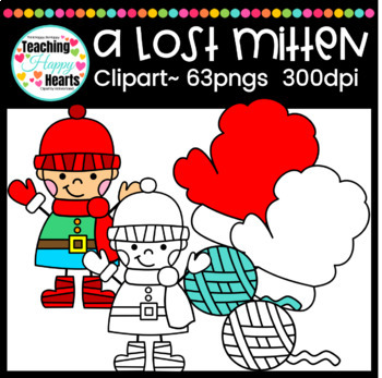 A Lost Mitten Clipart