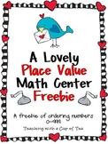 A Lovely Math Center
