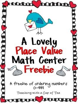 A Lovely Math Center