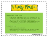 A Lucky Find - St. Patrick's Day Sight Word Center