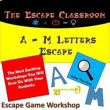 A - M Letters Escape Room | The Escape Classroom