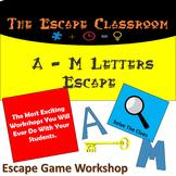 A - M Letters Escape Room   The Escape Classroom