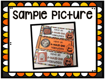 A-MAZE-ING Halloween Tags