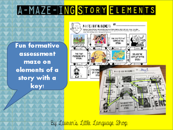A-MAZE-ING Story Elements