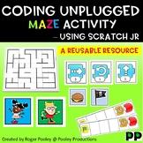 Coding Unplugged Maze activity