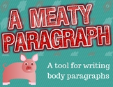 "A ""MEAT""y Paragraph: A Tool for Writing Body Paragraphs"