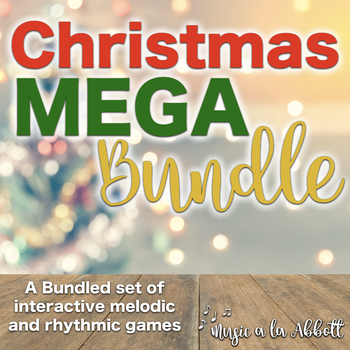 A MEGA-Set of Ready-to-Use Interactive Games for Christmas