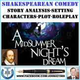A MIDSUMMER NIGHT'S DREAM - SHAKESPEAREAN COMEDY - UNIT PLANS AND RESOURCES