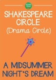 A MIDSUMMER NIGHTS DREAM Shakespeare play drama circle