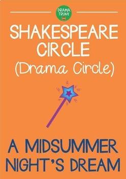 A MIDSUMMER NIGHTS DREAM Shakespeare play drama circle