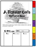 A MONSTER CALLS NOVEL STUDY TAB BOOK