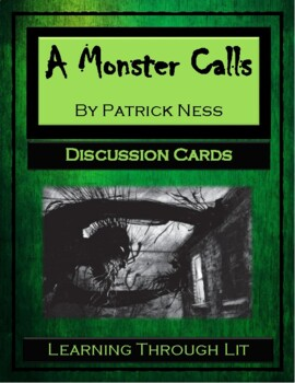 A MONSTER CALLS by Patrick Ness - Discussion Cards