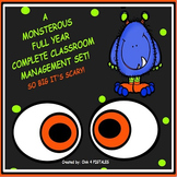 MONSTERS THEME CLASSROOM COMPLETE DECOR SET