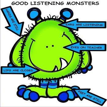 Monsters Classroom Decor Set